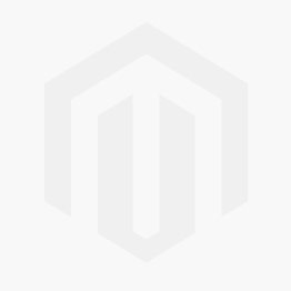 White Single Face Edge Lit Glass Exit Sign w/ Battery Back up