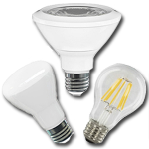High Voltage LED Bulbs