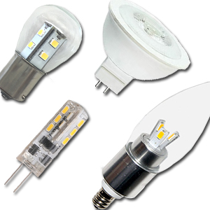 Low Voltage LED Bulbs