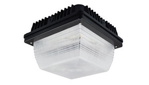 led gas light canopy