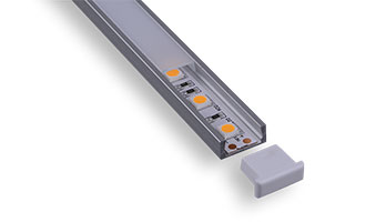 slim led aluminum channels
